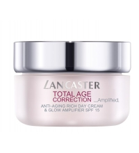 LANCASTER TOTAL AGE CORRECTION AMPLIFIED ANTI-AGING RICH DAY CREAM & GLOW 50 ML