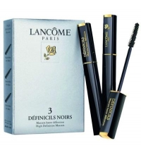 LANCOME TRIO EYE MASK DEFINILS BLACK  X 3 SET REGALO