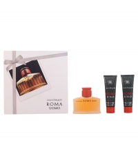 LAURA BIAGIOTTI ROMA UOMO EDT 75 ML + 2 X SHOWER GEL 50 ML SET REGALO