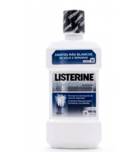 LISTERINE ENJUAGUE BUCAL BLANQUEADOR AVANZADO 500ML