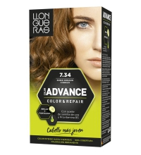 LLONGUERAS COLOR ADVANCE TINTE 7.34 RUBIO DORADO COBRIZO