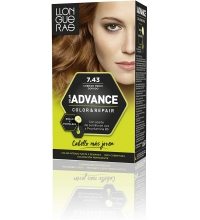 LLONGUERAS COLOR ADVANCE TINTE 7.43 COBRIZO MEDIO DORADO