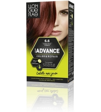 LLONGUERAS COLOR ADVANCE TINTE 6.6 CAOBA ROJO