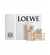 LOEWE AURA EDP 80 ML + BODY LOCION 75 ML + MINI EDT 15 ML SET REGALO