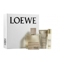LOEWE SOLO LOEWE CEDRO EDT 100ML + EDT 20ML + AFTER SHAVE BÁLSAMO 50ML SET REGALO