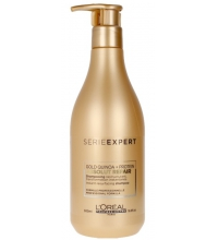 L'OREAL ABSOLUT REPAIR LIPIDIUM SHAMPOO  GOLD QUINOA + PROTEIN 500 ML