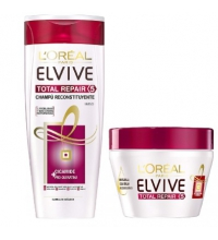 L'OREAL ELVIVE TOTAL REPAIR 5 MASCARILLA RECONSTITUYENTE 300ML + CHAMPU 250ML