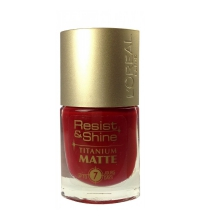L´OREAL RESIST & SHINE TITANIUM MATT 500 9 ML