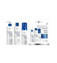 L´OREAL SERIOXYL KIT 3 (CABELLO NORMAL) CONDITIONER 250 ML + MOUSSE 125 ML+ SHAMPOO 250 ML SET