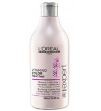 L'OREAL VITAMINO COLOR AOX  FRESH FEEL MASCARILLA EFECTO FRESCOR 500 ML