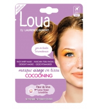 LOUA MASCARILLA FACIAL COCOONING 22ML