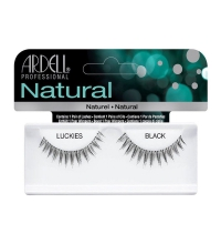 ARDELL PESTAÑAS NATURAL LUCKIES BLACK CON ADHESIVO