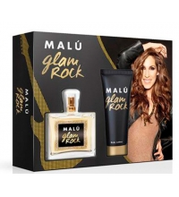MALU GLAM ROCK EDT 100ML + BODY LOCION 75ML SET REGALO