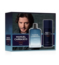 MANUEL CARRASCO EDT LIBRE INTENSO 100ML VAPO DESODORANTE 150ML SET REGALO