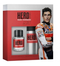 MARC MARQUEZ HERO SPORT EDT 100ML VAPO + DESODORANTE SPRAY 150ML SET REGALO