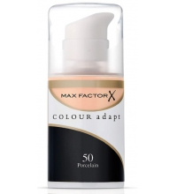 MAX FACTOR COLOUR ADAPT FOUNDATION 50 PORCELAIN 34 ML