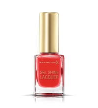 MAX FACTOR GEL SHINE LACQUER 25 PATENT POPPY