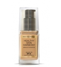 MAX FACTOR HEALTHY SKIN HARMONY MIRACLE FOUNDATION 75 GOLDEN