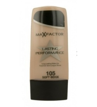 MAX FACTOR LASTING PERFORMANCE 105 SOFT BEIGE