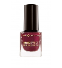 MAX FACTOR MAX EFFECT MINI NAIL 13 DEEP MAUVE 4.5 ML