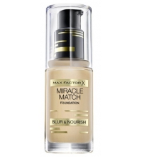MAX FACTOR MIR MATCH BLUR & NOUR SOFT BASE DE MAQUILLAJE  GOLDEN 75 30ML