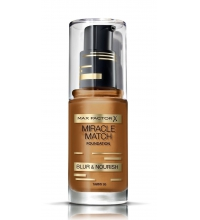 MAX FACTOR MIRACLE MATCH BLUR & NORISH BASE DE MAQUILLAJE 95 TAWNY 30ML