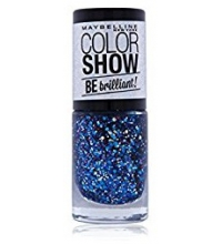 MAYBELLINE COLOR SHOW BE BRILLANT SKYLINE BLUE 420 7ML