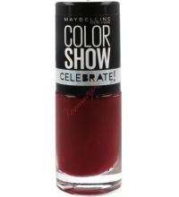 MAYBELLINE COLOR SHOW CELEBRATE VELVET ROPE 438 7ML