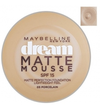 MAYBELLINE DREAM MATTE MOUSSE PORCELAIN 05 18ML