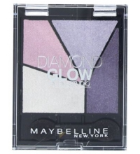 MAYBELLINE QUAD DIAMOND GLOW PURPLE DRAMA 01 4G
