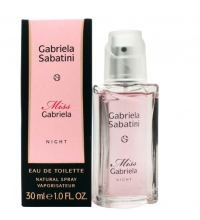 GABRIELA SABATINI MISS GABRIELA NIGHT EDT 30ML VAPORIZADOR