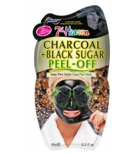 MONTAGNE JEUNESSE CHARCOAL+BLACK SUGAR PEEL OFF MASCARILLA