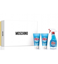 MOSCHINO FRESH COUTURE EDT 50 ML + B/L 50 ML + GEL 50 ML SET REGALO