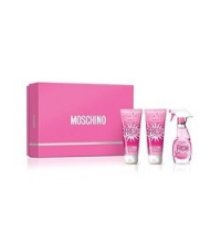 MOSCHINO PINK FRESH COUTURE EDT 50 ML + B/L 100 ML + S/GEL 100 ML SET REGALO