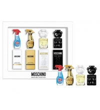 MOSCHINO MINIATURAS X 4 UDS SET REGALO