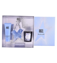 THIERRY MUGLER ANGEL EDP 25 ML + B/LOC 50 ML + VELA SET REGALO