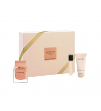 NARCISO RODRIGUEZ AMBREE EDP 90 ML + BODY LOTION 50 ML + MINI 10 ML SET REGALO