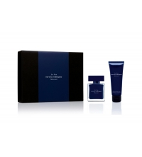 NARCISO RODRIGUEZ BLEU NOIR HIM EDT 50 ML + S/G 75 ML SET REGALO