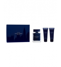 NARCISO RODRIGUEZ BLEU NOIR HIM EDT 100 ML + 2 x S/G 75 ML SET REGALO