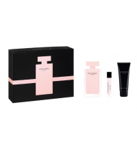 NARCISO RODRIGUEZ FOR HER EDP 100 ML + B/L 75 ML +EDP 10 ML SET REGALO