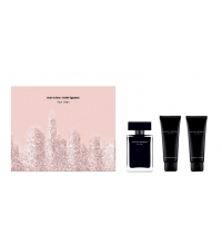NARCISO RODRIGUEZ FOR HER  EDT 50 ML + B/L 50 ML + S/GEL 50 ML SET REGALO