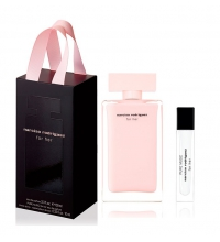 NARCISO RODRIGUEZ FOR HER EDP 100 ML + PURE MUSC EDP 10 ML SET REGALO