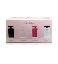 NARCISO RODRIGUEZ FOR HER MINIATURAS x 4 SET REGALO