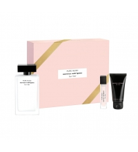 NARCISO RODRIGUEZ FOR HER PURE MUSC EDP 100 ML + BODY LOTION 50 ML + EDP 10 ML SET REGALO