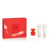 NARCISO RODRIGUEZ NARCISO ROUGE EDP 50 ML + B/L 75 ML + GEL 75 ML SET REGALO