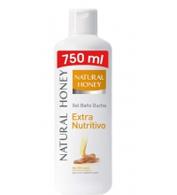 NATURAL HONEY GEL DE BAÑO DERMO NUTRITIVO 650ML + 100ML