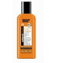 NATURAL WORLD BRAZILIAN KERATIN OIL SMOOTHING THERAPY CONDITIONER 100 ML
