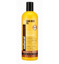 NATURAL WORLD CHIA SEED OIL VOLUME & SHINE  SHAMPOO 500 ML