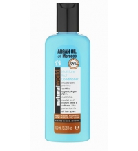NATURAL WORLD MOROCCAN ARGAN OIL MOISTURE RICH CONDITIONER 100 ML