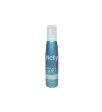 NELLY ESPUMA COLOR PLATA 150 ML